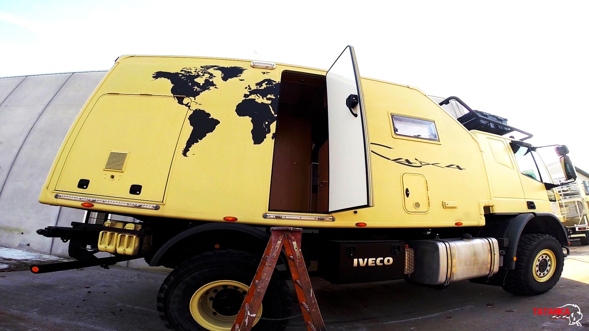 Iveco Eurocargo 4×4 Camperizzato