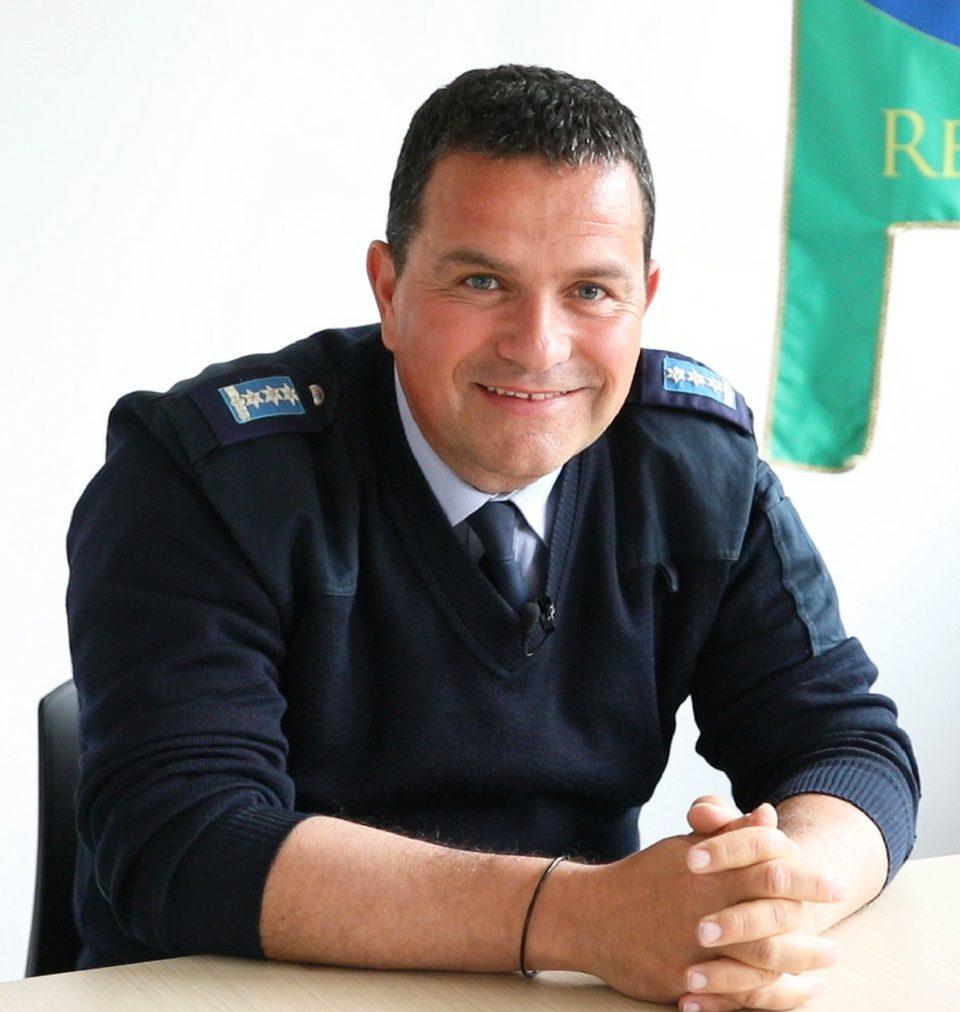 Sostituto Commissario Referente S.I. Protezione Civile Alberto Benuzzi
