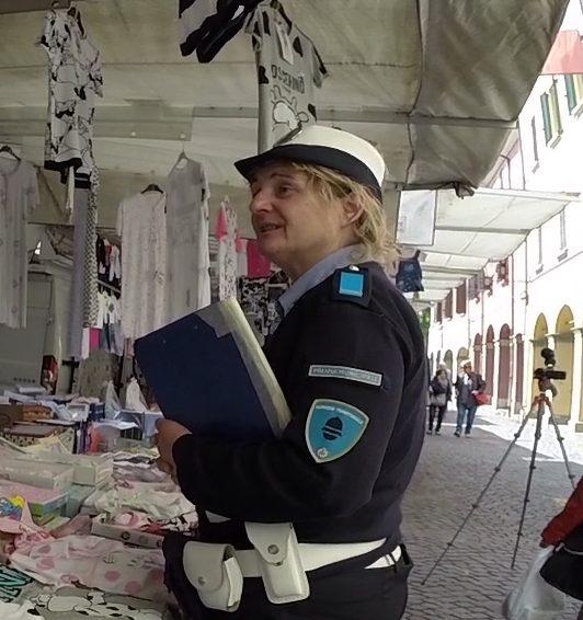 Assistente di Polizia Locale Silvana Benvenuti