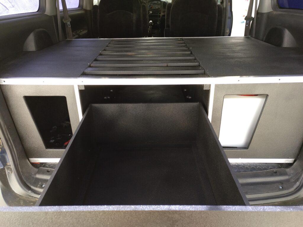 cajon abierto furgon vivienda h1 4x4
