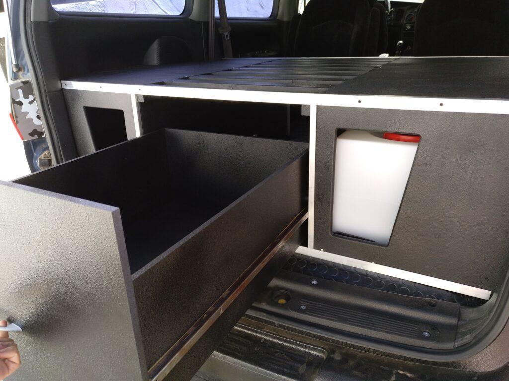 cajon cocina mueble camper h1 4x4